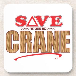 Crane Save Coaster
