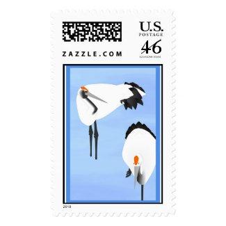 Crane Stamp 1 stamp