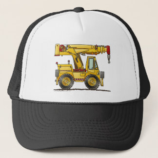 Crane Truck Construction Hats