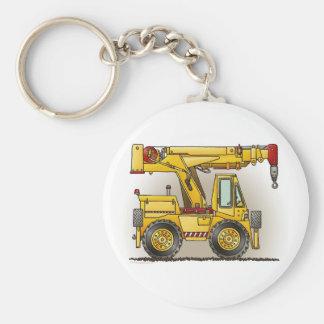 Crane Truck Key Chain