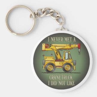 Crane Truck Operator Quote Key Chain