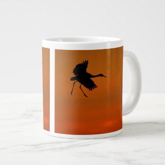 Crane Walking on Air Large Coffee Mug