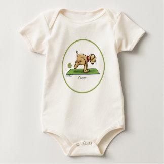 Crane - Yoga baby Baby Bodysuit