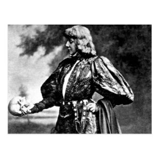 cráneo 1899 de William Shakespeare Sarah baird de  Tarjetas Postales