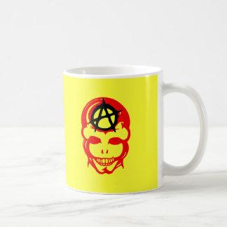 Cráneo 1 de la anarquía tazas