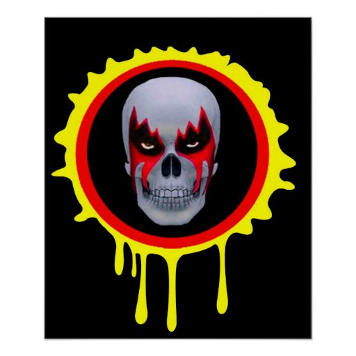 Cráneo 1 de SEÑOR NEVER Póster