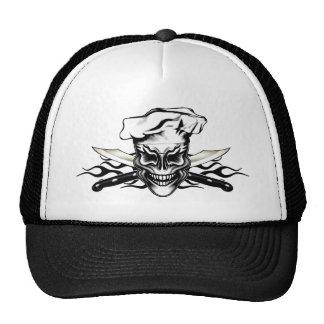 Cráneo 1 del cocinero gorra