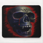 Cráneo 1 Mousepad del demonio Alfombrilla De Raton