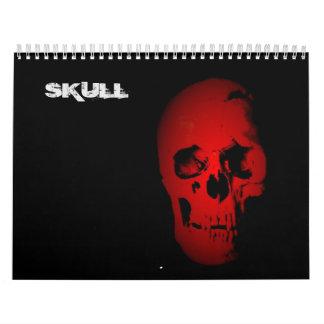 Cráneo 2017 calendarios de pared