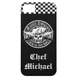 Cráneo 2 del cocinero iPhone 5 Case-Mate funda