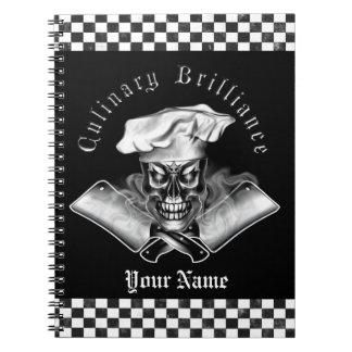 Cráneo 3,1 del cocinero cuaderno