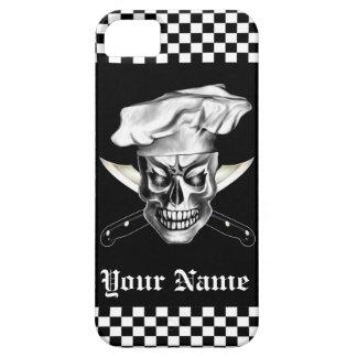 Cráneo 3,1 del cocinero iPhone 5 protectores