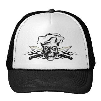 Cráneo 3,1 del cocinero gorra