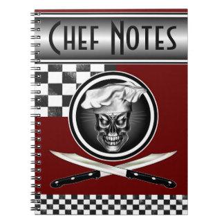 Cráneo 3,1 del cocinero libro de apuntes
