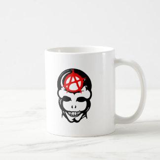 Cráneo 3 de la anarquía tazas de café