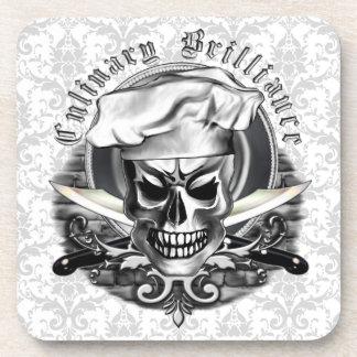 Cráneo 3 del cocinero posavaso