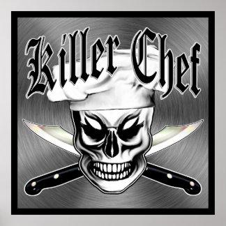 Cráneo 4 del cocinero: Cocinero del asesino Póster