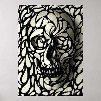 Cráneo 4 posters