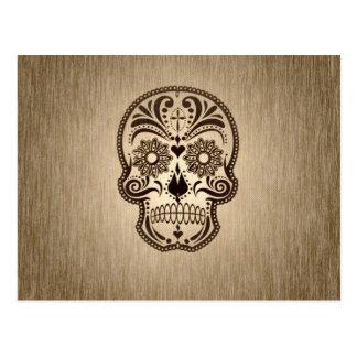 cráneo 5 tarjeta postal