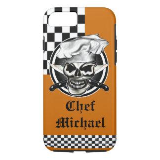 Cráneo 8 del cocinero funda iPhone 7