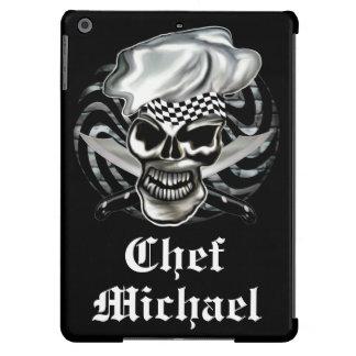 Cráneo 8 del cocinero funda para iPad air