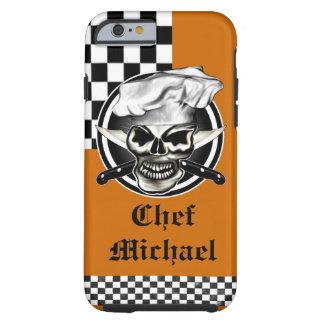 Cráneo 8 del cocinero funda resistente iPhone 6
