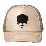 Cráneo 9313032011 (gótico y oscuro) gorra