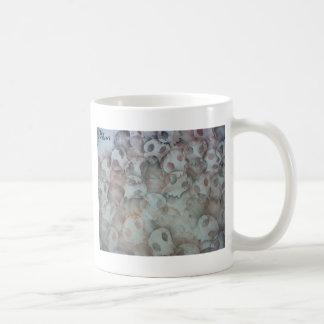 Cráneo abstracto taza