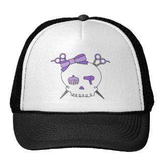 Cráneo accesorio del pelo púrpura - Scissor la ban Gorros