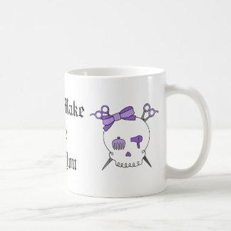 Cráneo accesorio del pelo púrpura - Scissor la Taza