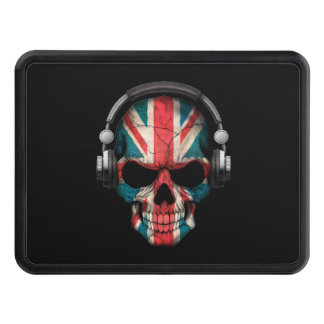 Cráneo adaptable de Británicos DJ con los Tapas De Tráiler