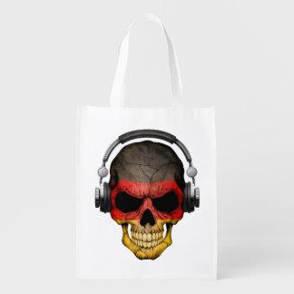 Cráneo adaptable de DJ del alemán con los Bolsas Reutilizables