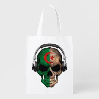 Cráneo adaptable de DJ del algerino con los Bolsas De La Compra