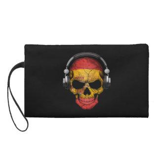 Cráneo adaptable de DJ del español con los