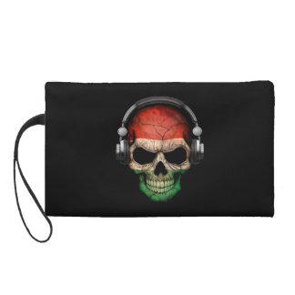Cráneo adaptable de DJ del húngaro con los