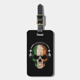 Cráneo adaptable de DJ del irlandés con los Etiquetas Maleta