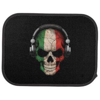 Cráneo adaptable de DJ del italiano con los Alfombrilla De Auto