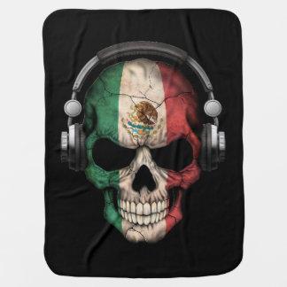 Cráneo adaptable de DJ del mexicano con los Mantas De Bebé