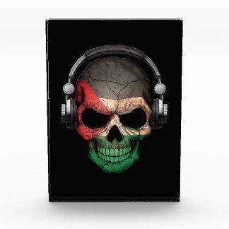 Cráneo adaptable de DJ del palestino con los