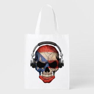 Cráneo adaptable de DJ del puertorriqueño con los Bolsas Para La Compra