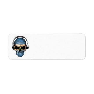 Cráneo adaptable de El Salvador DJ con los Etiqueta De Remite