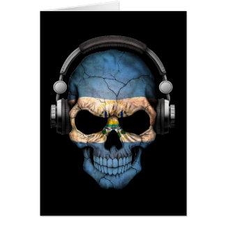 Cráneo adaptable de El Salvador DJ con los Tarjeta De Felicitación