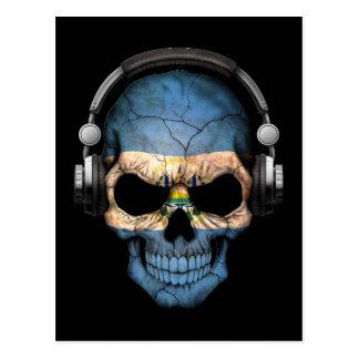 Cráneo adaptable de El Salvador DJ con los Postales