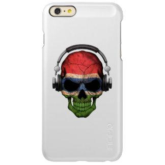 Cráneo adaptable de gambiano DJ con los
