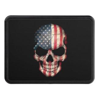 Cráneo adaptable de la bandera americana tapas de tráiler