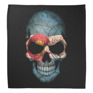 Cráneo adaptable de la bandera de Colorado Bandanas
