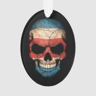 Cráneo adaptable de la bandera de Rican de la