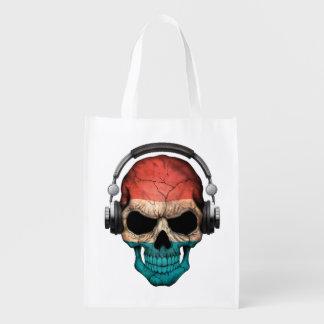Cráneo adaptable de Luxemburgo DJ con los Bolsas De La Compra