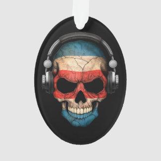 Cráneo adaptable de Rican DJ de la costa con los