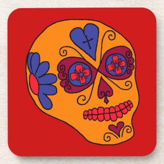 Cráneo adaptable del azúcar de Lucha Libre Posavasos